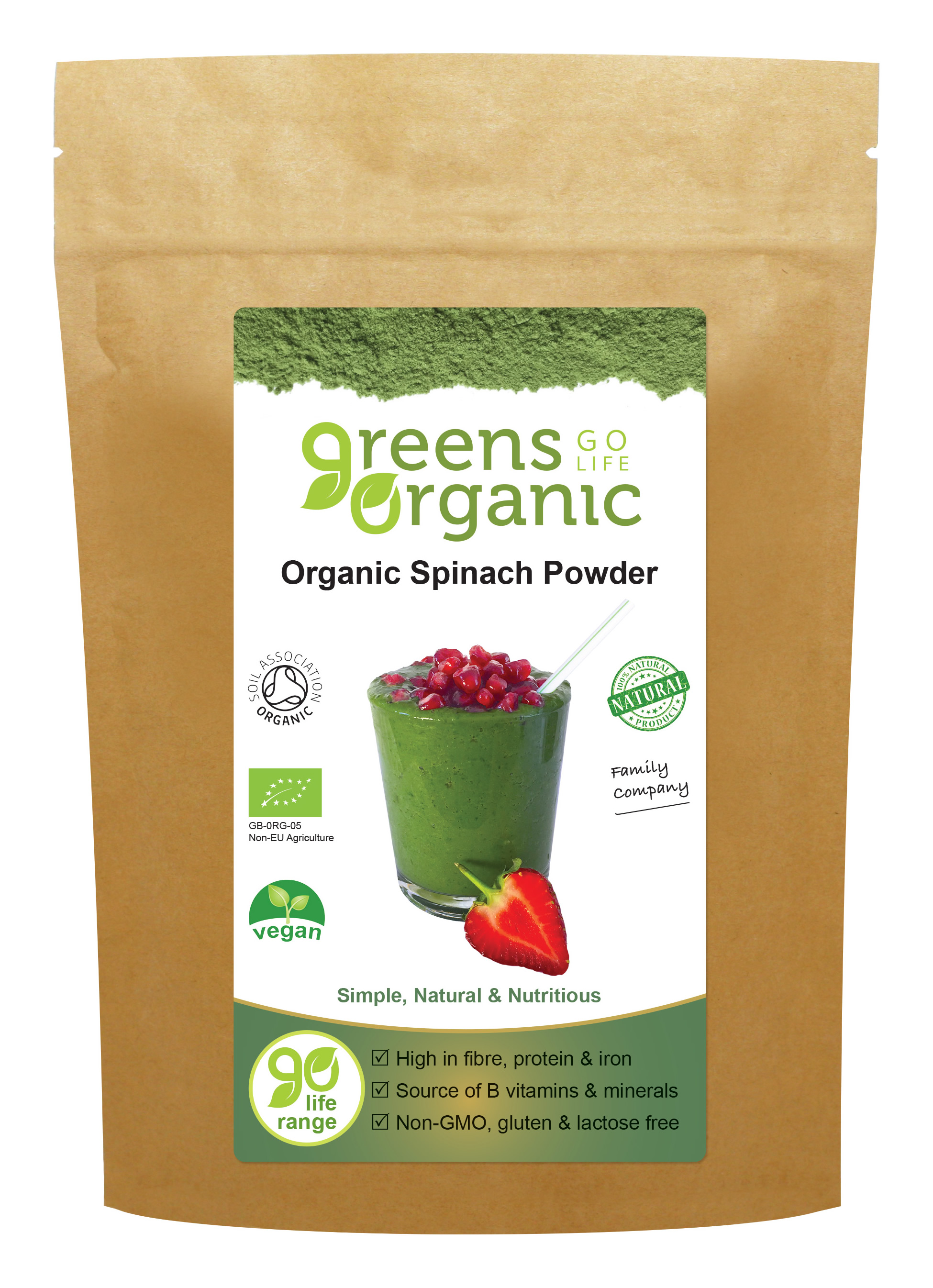 Organic Spinach Powder